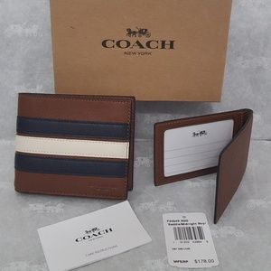 COACH COMPACT ID WALLET F24649